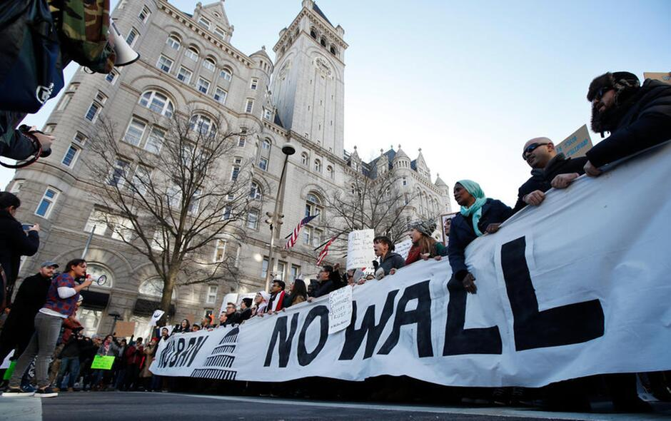 Protests and U.S. Discrict Court Battles Over Trump's Muslim Ban Executive Order